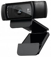 Web Camera Logitech HD Pro Webcam C920, Widescreen Video Calling and Recording, 1080p Refurbished
